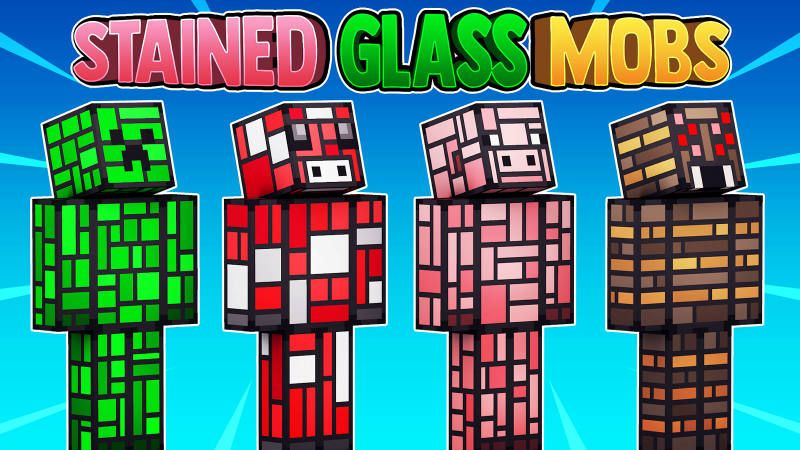 Stained Glass Mobs on the Minecraft Marketplace by 57Digital