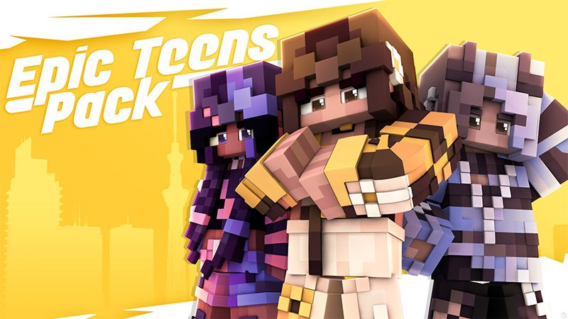 Epic Teens Pack on the Minecraft Marketplace by Glowfischdesigns