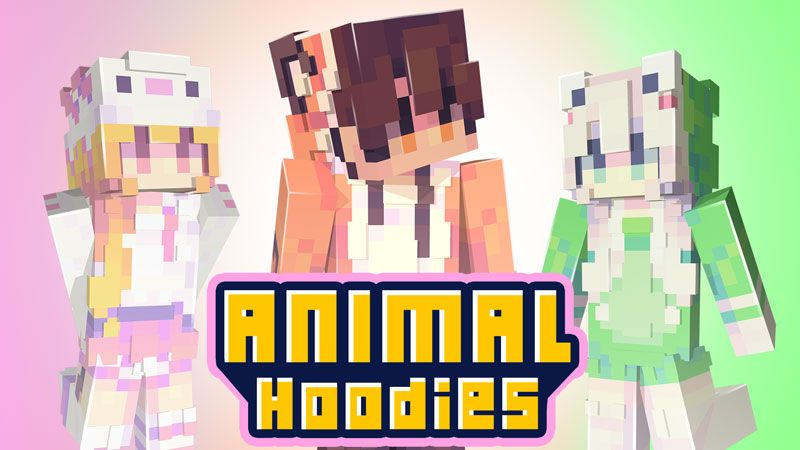 Animal Hoodies on the Minecraft Marketplace by Ninja Squirrel Gaming