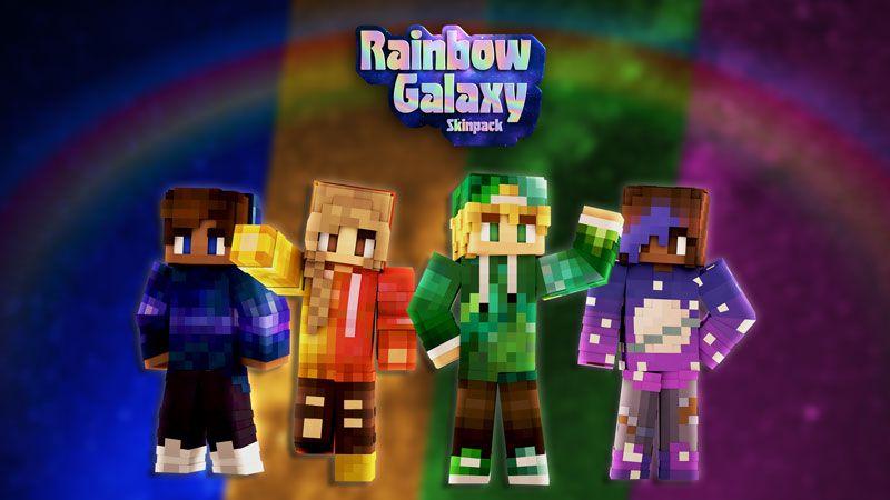 Rainbow Galaxy Skin Pack