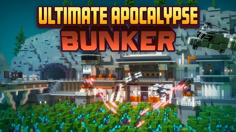 Ultimate Apocalypse Bunker on the Minecraft Marketplace by Cubed Creations