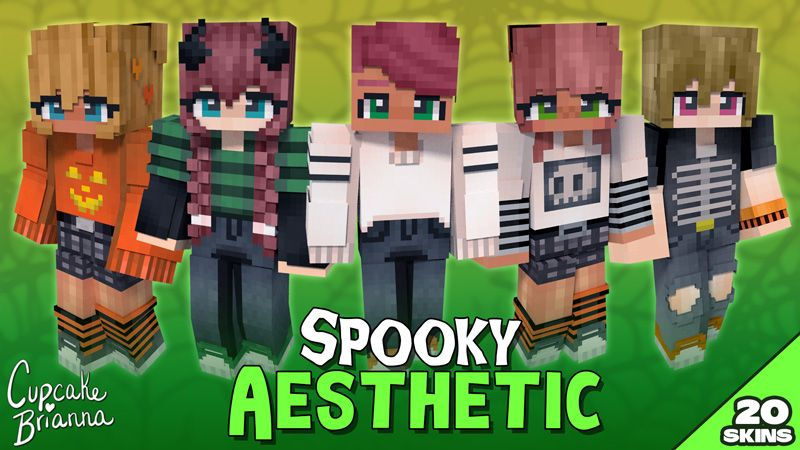 Spooky Aesthetic HD Skin Pack on the Minecraft Marketplace by CupcakeBrianna