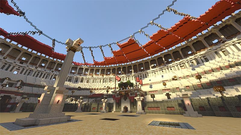Colosseum RTX on the Minecraft Marketplace by Nvidia