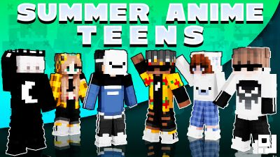 Summer Anime Teens on the Minecraft Marketplace by inPixel