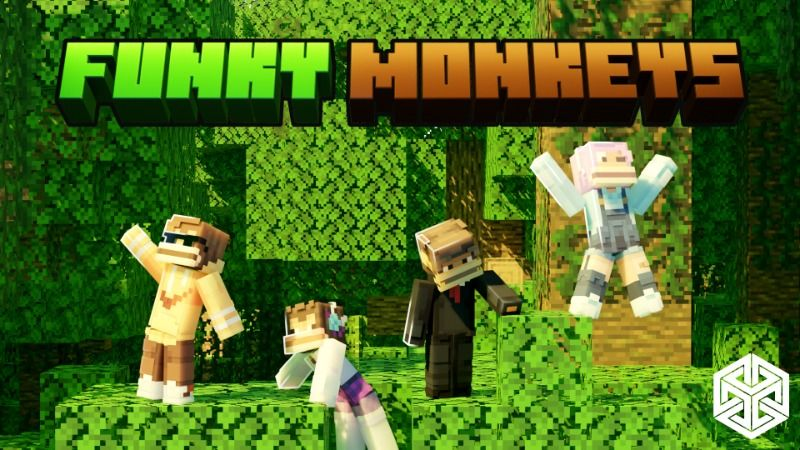 Funky Monkeys on the Minecraft Marketplace by Yeggs