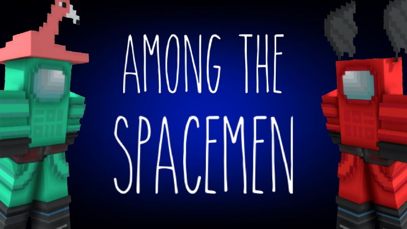 Among the Spacemen on the Minecraft Marketplace by CompyCraft
