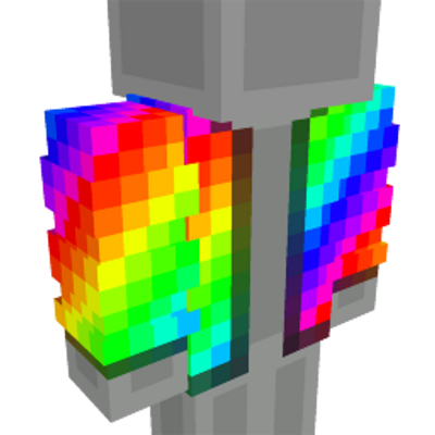 Rainbow Bubble Vest on the Minecraft Marketplace by Cleverlike