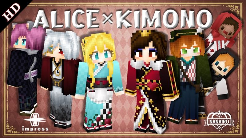 Alice Kimono HD on the Minecraft Marketplace by Impress