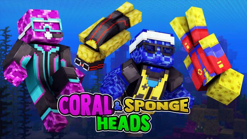 Coral & Sponge Heads
