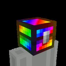 Rainbow Chest Head