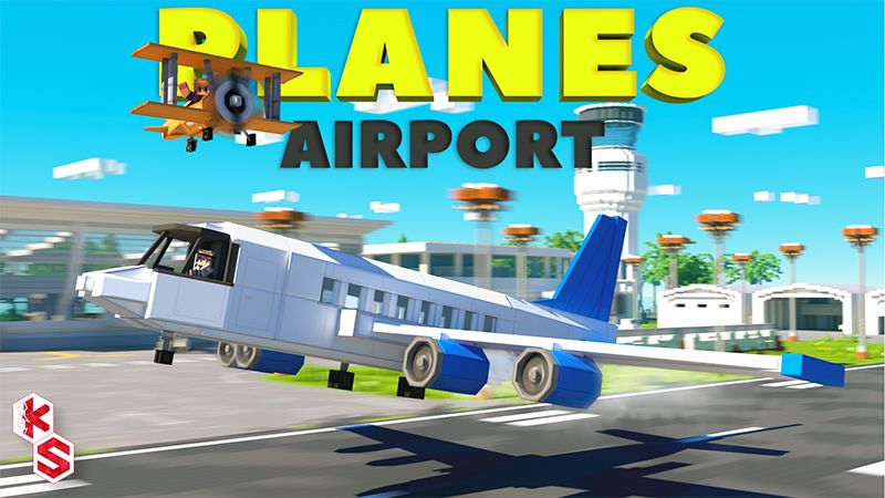 Planes Airport on the Minecraft Marketplace by Kreatik Studios