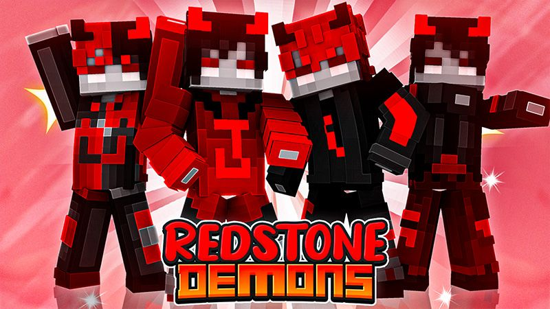 Redstone Demons on the Minecraft Marketplace by Odyssey Builds