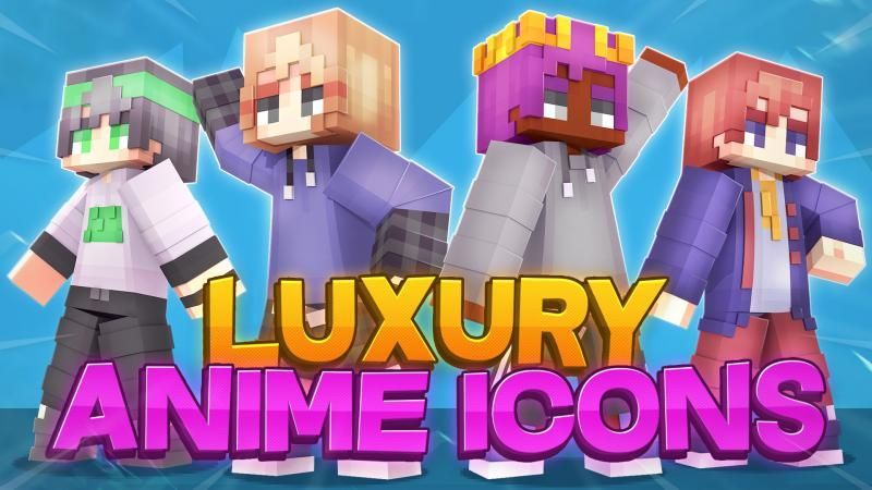 Luxury Anime Icons on the Minecraft Marketplace by DigiPort