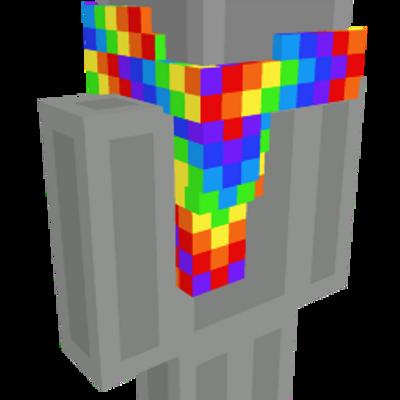 Rainbow Scarf on the Minecraft Marketplace by Blu Shutter Bug