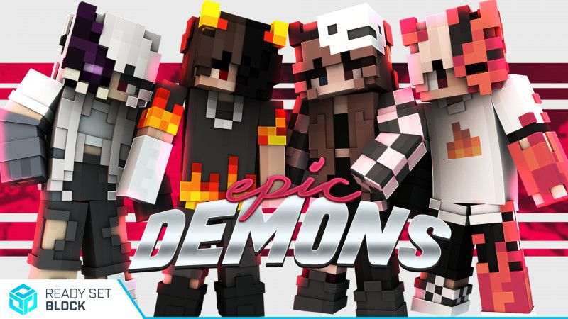 Epic Demons on the Minecraft Marketplace by Ready, Set, Block!