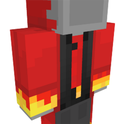 Demon Suit on the Minecraft Marketplace by The Rage Craft Room