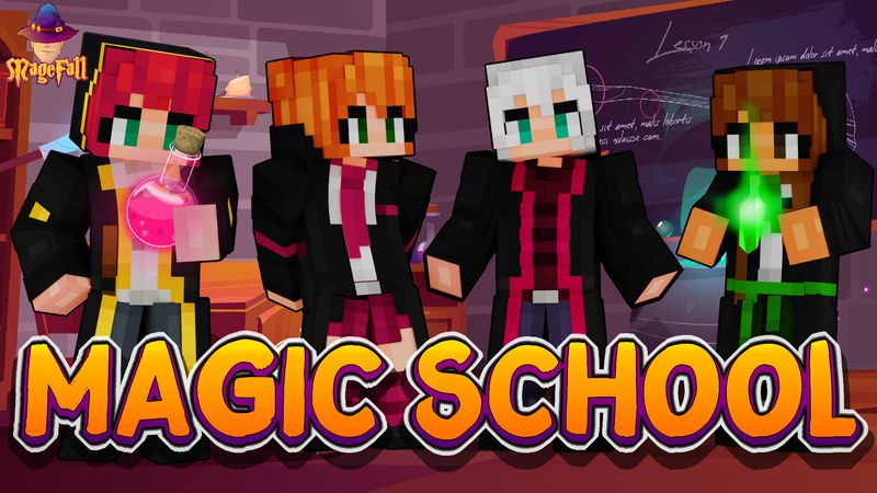 Magic School on the Minecraft Marketplace by Magefall