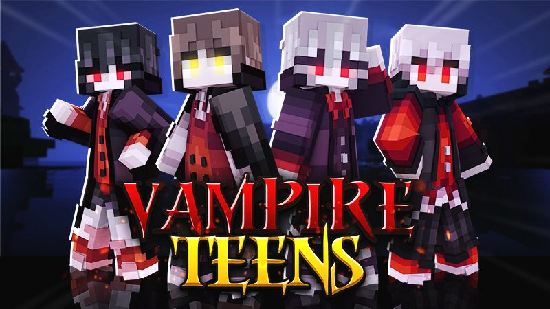 Vampire Teens on the Minecraft Marketplace by Cypress Games