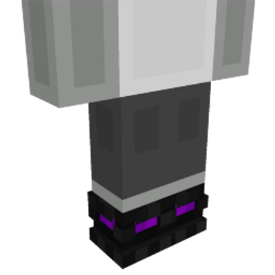 Ender Shoes on the Minecraft Marketplace by Mob Pie