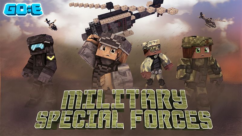 Military Special Forces on the Minecraft Marketplace by GoE-Craft