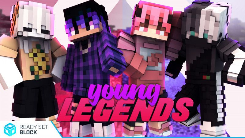 Young Legends on the Minecraft Marketplace by Ready, Set, Block!