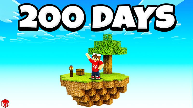 SkyBlock 200 Days Challenge on the Minecraft Marketplace by KA Studios