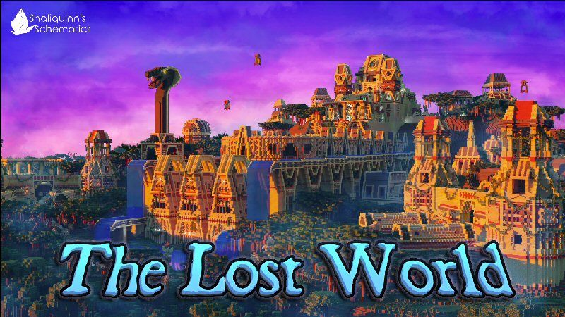 The Lost World on the Minecraft Marketplace by Shaliquinn's Schematics