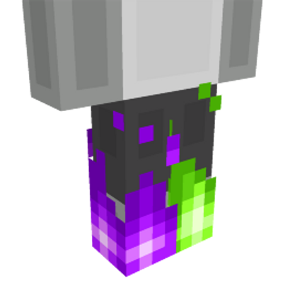 Spooky Flame Legs on the Minecraft Marketplace by Metallurgy Blockworks