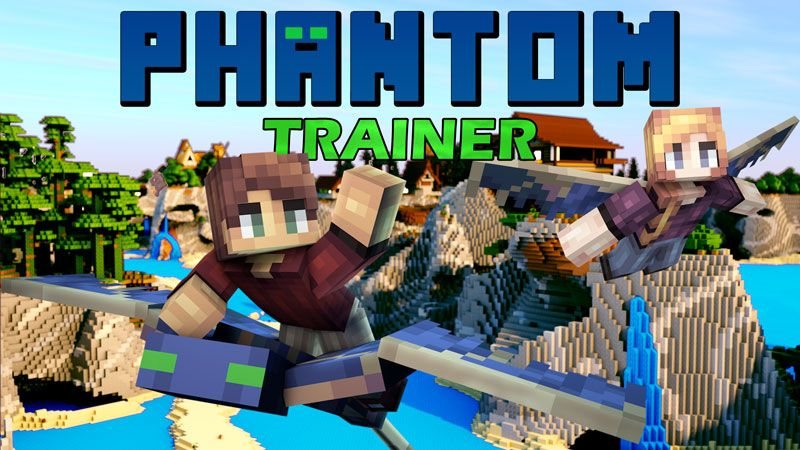 Phantom Trainer on the Minecraft Marketplace by Pixels & Blocks