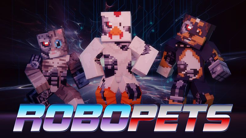 Robo Pets on the Minecraft Marketplace by Dig Down Studios