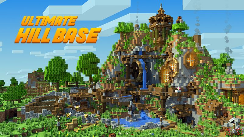 Ultimate Hill Base on the Minecraft Marketplace by Glowfischdesigns