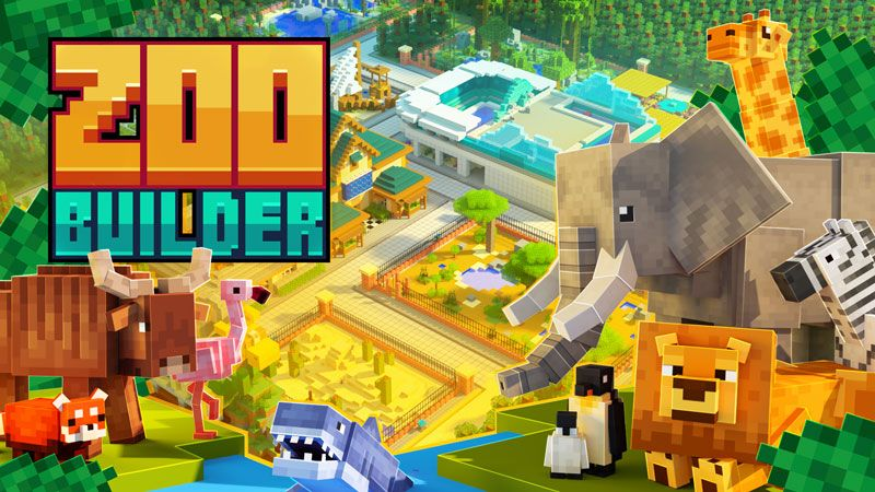 ZOO BUILDER on the Minecraft Marketplace by Team Workbench