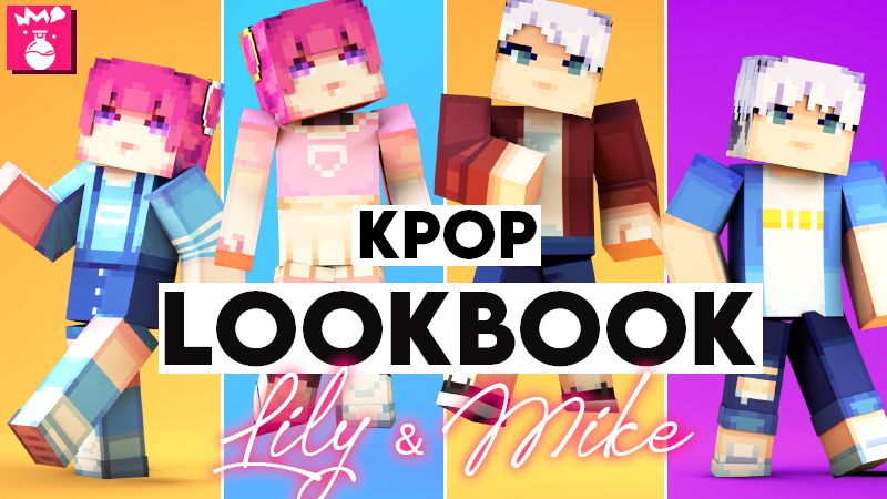 KPOP Lookbook Lily  Mike HD on the Minecraft Marketplace by Humblebright Studio
