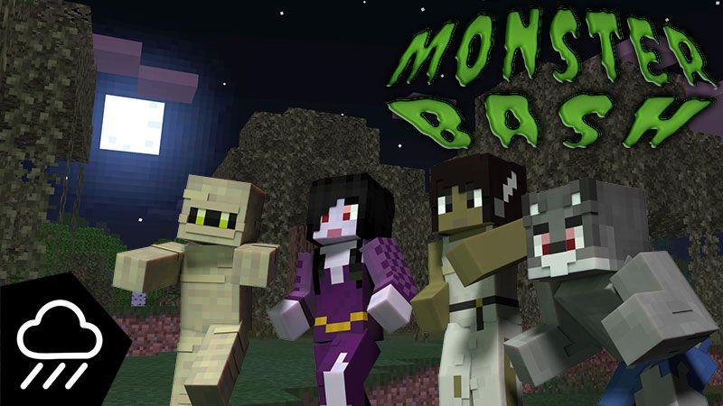 Monster Bash on the Minecraft Marketplace by Rainstorm Studios