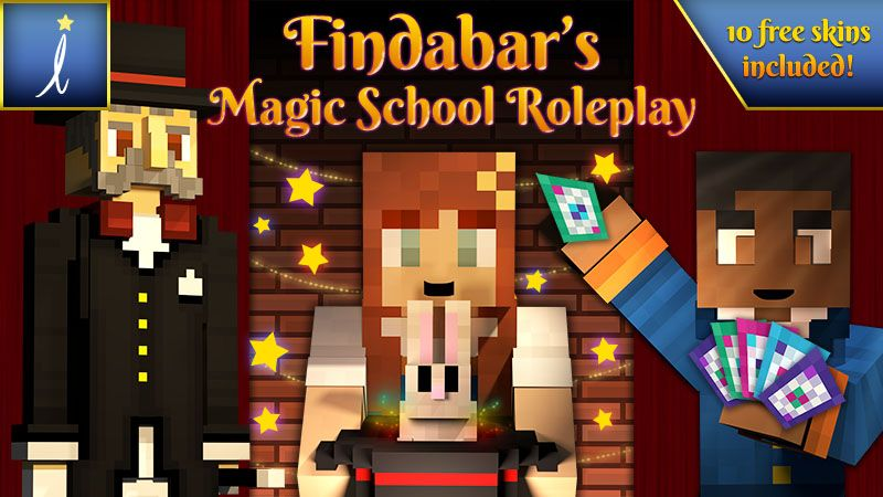 Findabars Magic School on the Minecraft Marketplace by Imagiverse