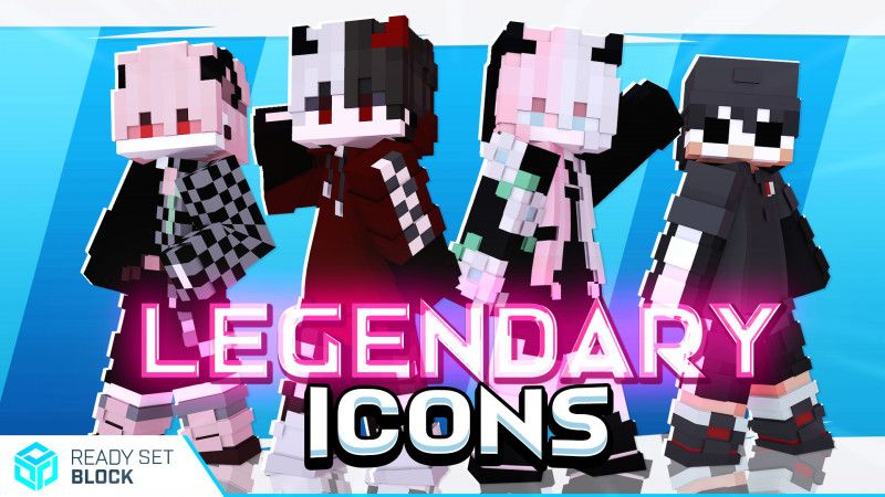 Legendary Icons on the Minecraft Marketplace by Ready, Set, Block!