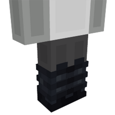 Black Boots on the Minecraft Marketplace by Ninja Squirrel Gaming