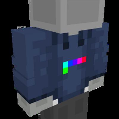 Rainbow Snake Hoodie on the Minecraft Marketplace by Dodo Studios