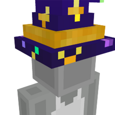 Wizard Hat on the Minecraft Marketplace by The Rage Craft Room
