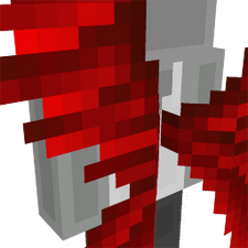 Red Hunter Wings on the Minecraft Marketplace by Cynosia