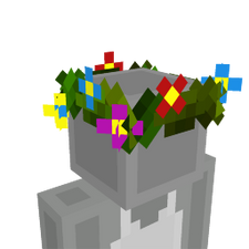Leavy Flower Crown on the Minecraft Marketplace by Dragnoz