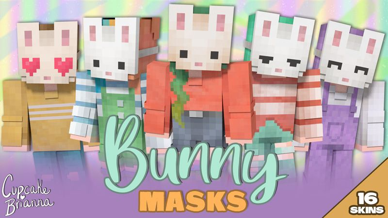 Bunny Masks HD Skin Pack on the Minecraft Marketplace by CupcakeBrianna