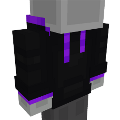 Enderman Hoodie on the Minecraft Marketplace by Mob Pie