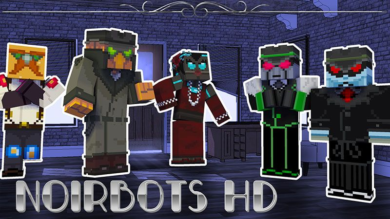 NoirBots HD on the Minecraft Marketplace by Appacado