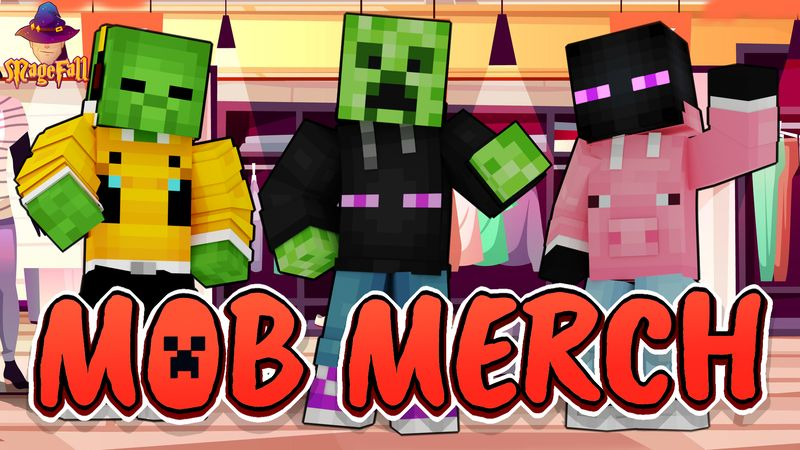 Mob Merch on the Minecraft Marketplace by Magefall