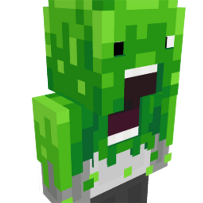 Slime Scream on the Minecraft Marketplace by Geeky Pixels