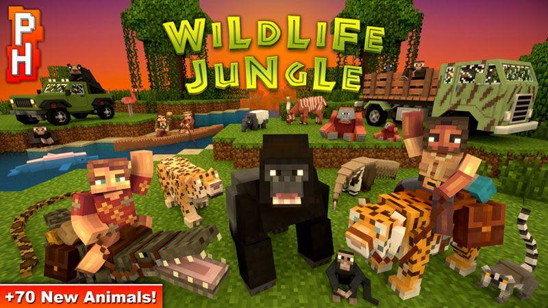 Wildlife Jungle on the Minecraft Marketplace by PixelHeads