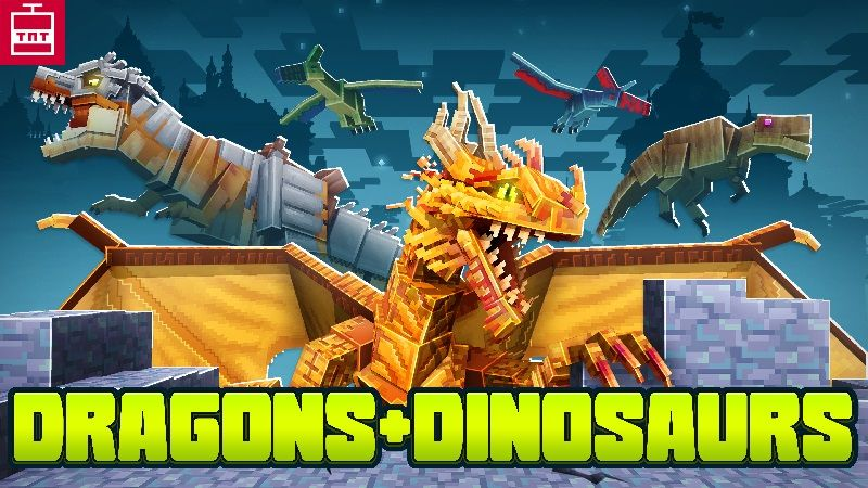 Dragons  Dinosaurs on the Minecraft Marketplace by TNTgames
