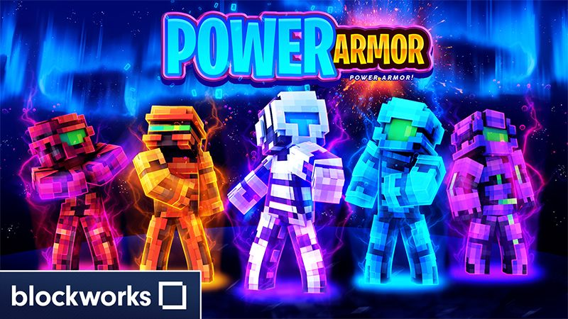 Power Armor on the Minecraft Marketplace by Blockworks