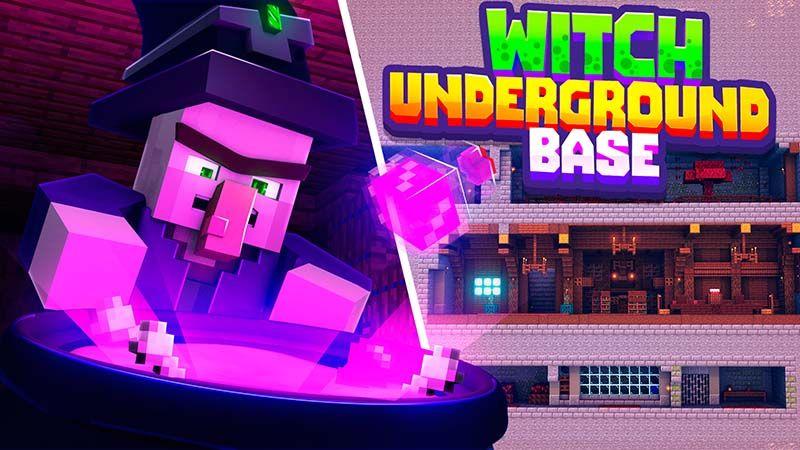 Witch Underground Base on the Minecraft Marketplace by Mine-North